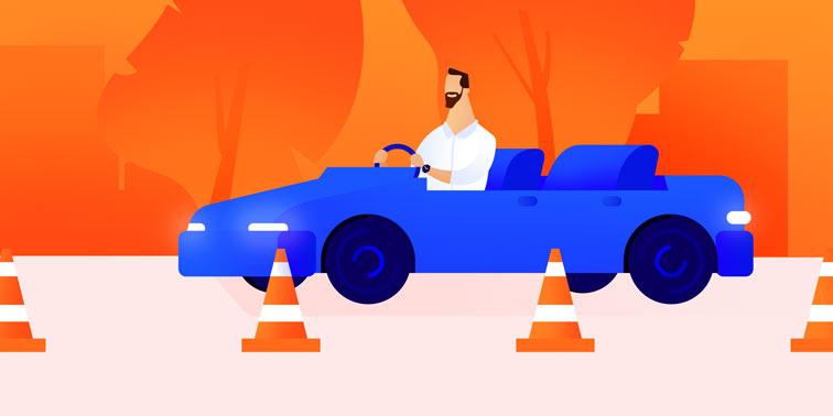 Driving schools booking software