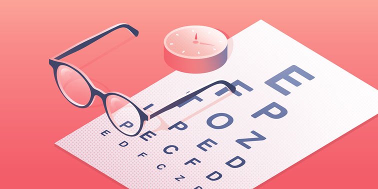 Booking system for opticians