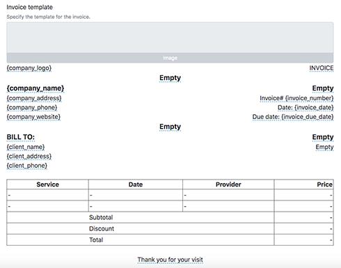 Automatic Invoicing