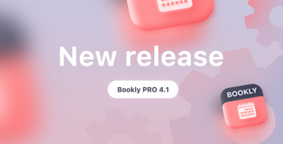 Bookly PRO 4.1 release