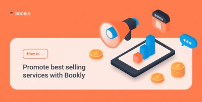 How to promote best-selling services with Bookly